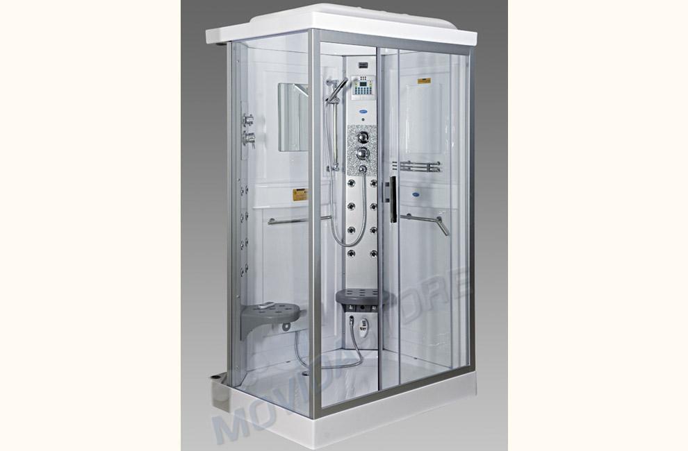 Cabine Doccia Rettangolari : Box doccia rettangolare storm day idro multifunzione stormdesign