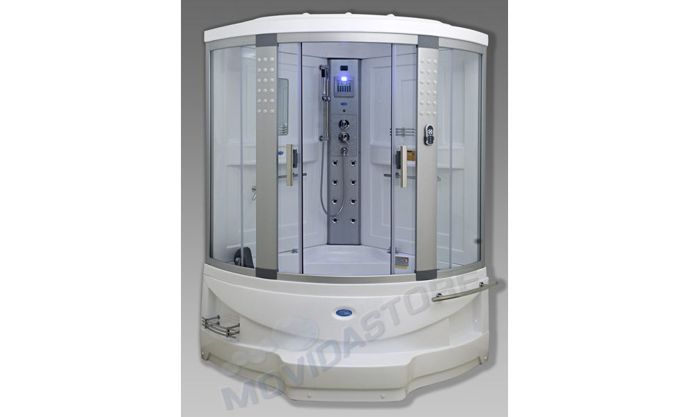 Box cabina doccia idrosauna sauna vasca idromassaggio - Cabine doccia multifunzione leroy merlin ...