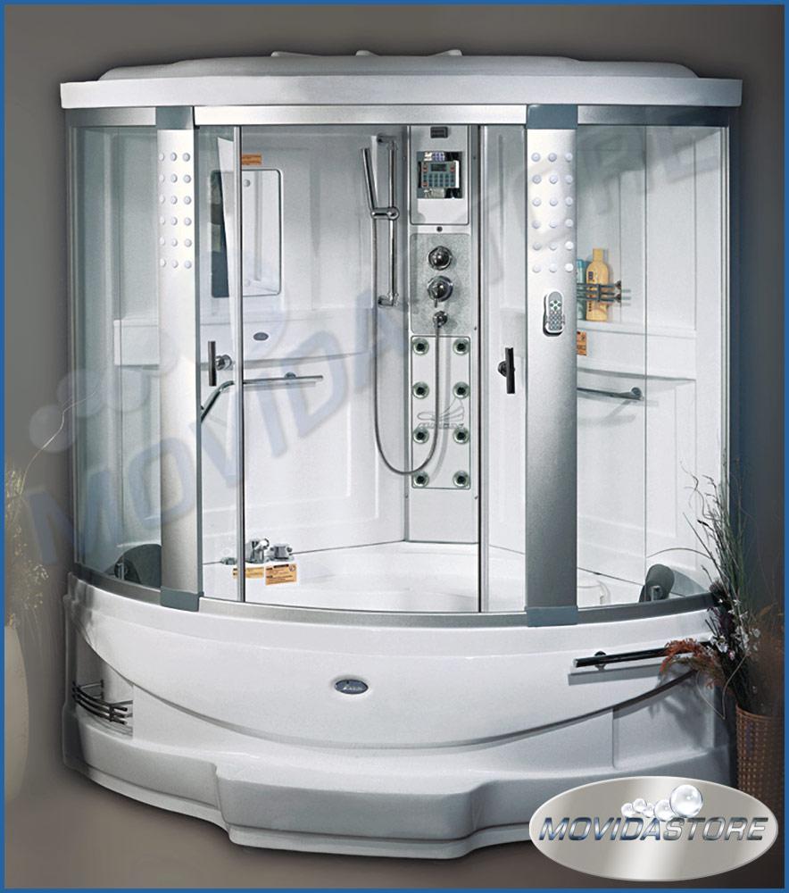 Vasca idromassaggio con box doccia - Vasca da bagno ikea ...