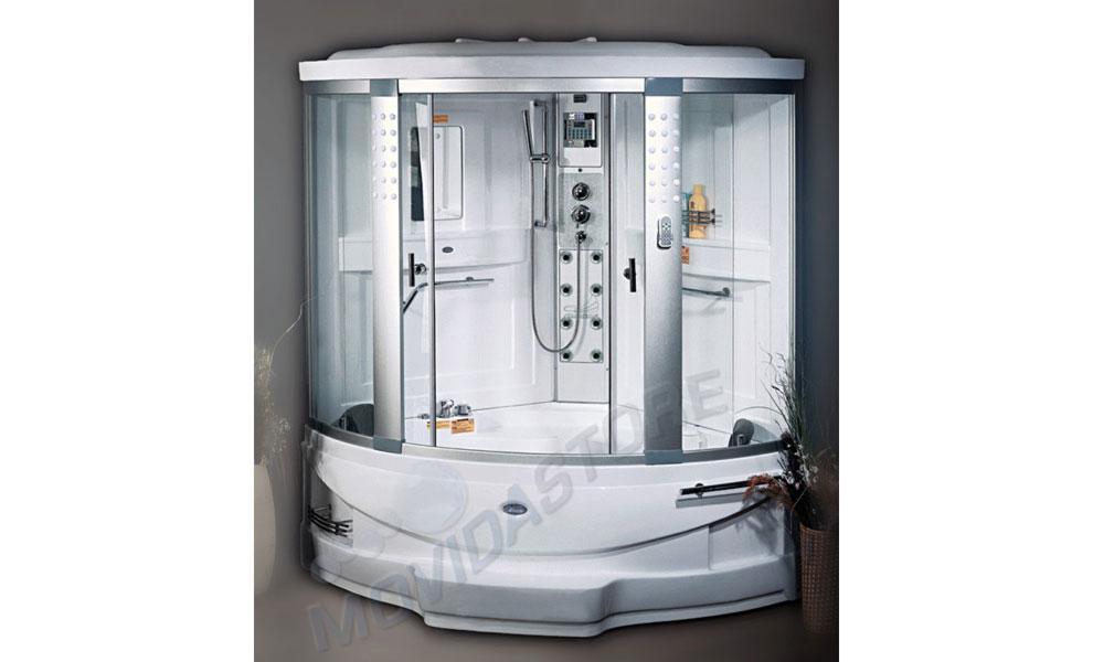 Box doccia sauna vasca