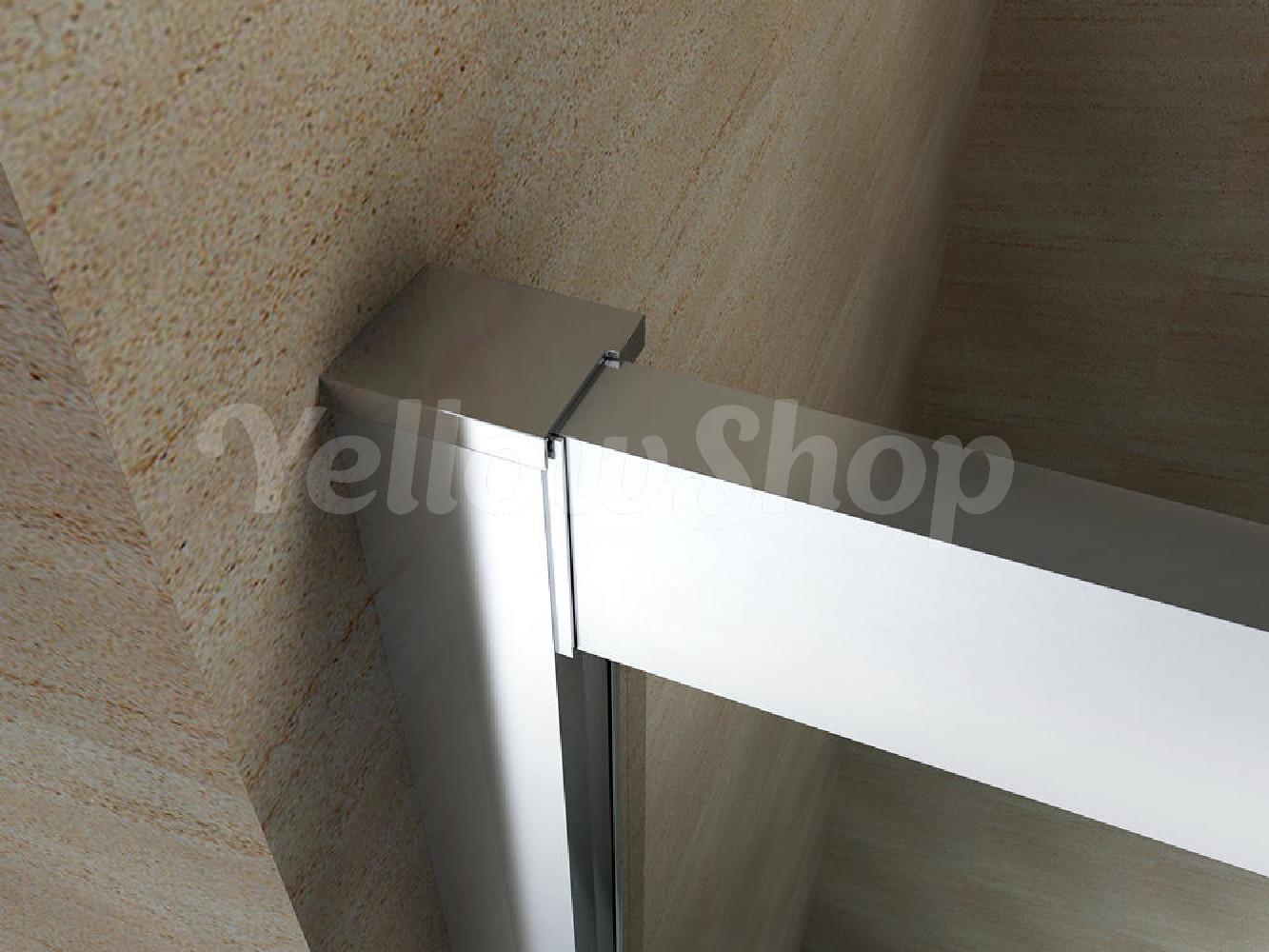 Box cabina doccia curvo semicircolare con piatto cristallo