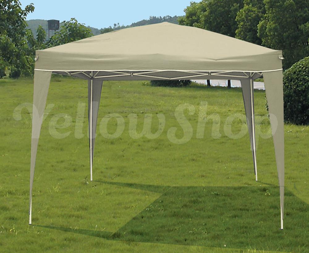Gazebo tenda richiudibile 3x3 pieghevole automatico for Copertura auto richiudibile