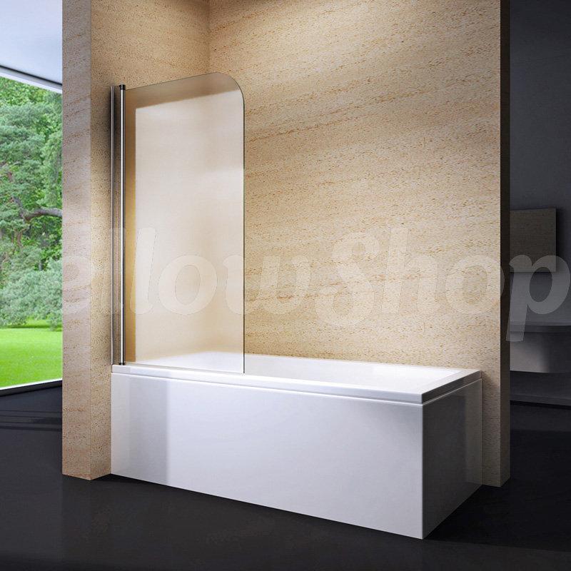 Parete sopravasca box cabina doccia vasca cristallo anta for Parete sopravasca
