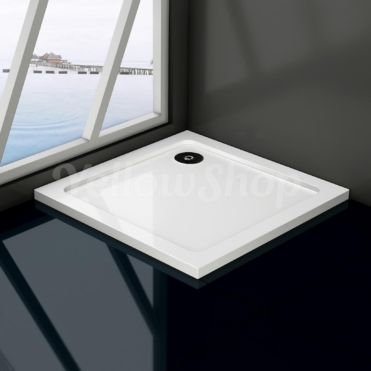 Piatto doccia resina massa piena slim sottile bianco curvo for Piatto doccia misure