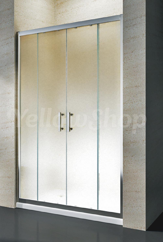 Box cabina doccia scorrevole nicchia bagno cm 100 110 120 - Ante per doccia ...