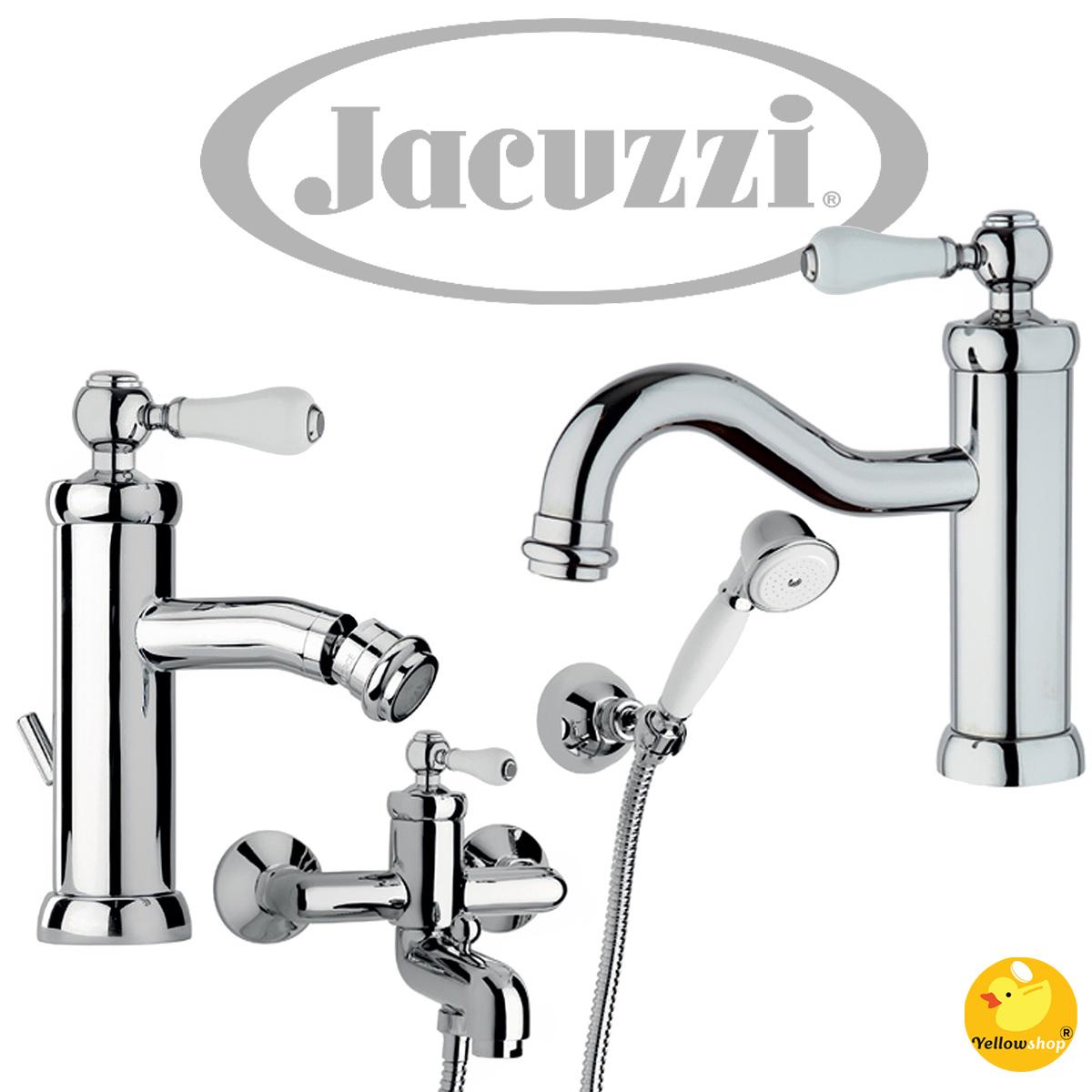 Yellowshop Miscelatore esterno vasca con kit duplex Jacuzzi mod Tosca