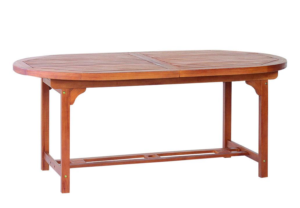 Tavolo ovale tondo 150 allungabile 200 legno 6 sedie for Tavolo tondo estensibile