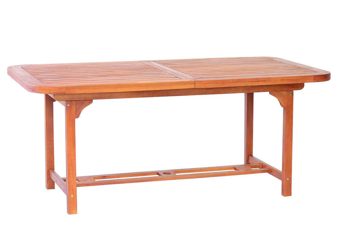 Tavolo Legno Set Giardino Allungabile Cm 150 200 X 100