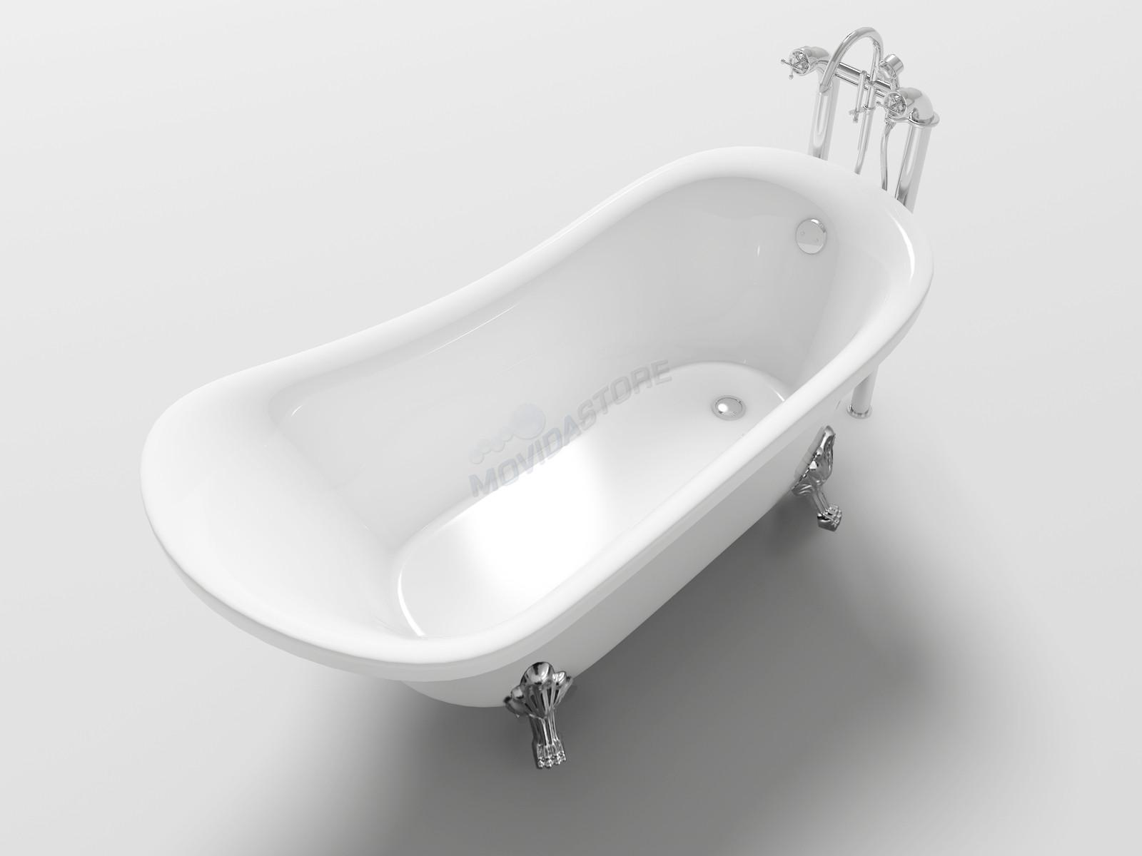 Vasca Da Bagno Angolare Chiusa : Vasca da bagno impero freestanding vintage antica vasche con piedini